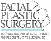 Facial Plastic Surgery logo. Americany Academy of Facial Plastic and Reconstructive Surgery, Inc.