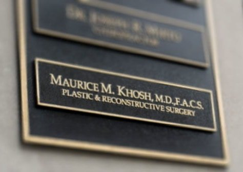 Bulding plaque name