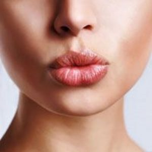 Close Up of Woman's Lips